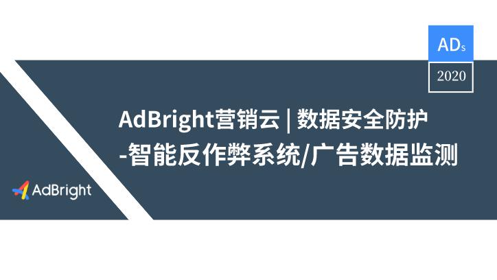 AdBright 营销云 | 数据安全防护工具及服务盘点
