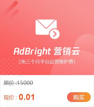 AdBright 营销云上榜全国服务专区