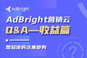 AdBright 营销云 QA —— 收益篇